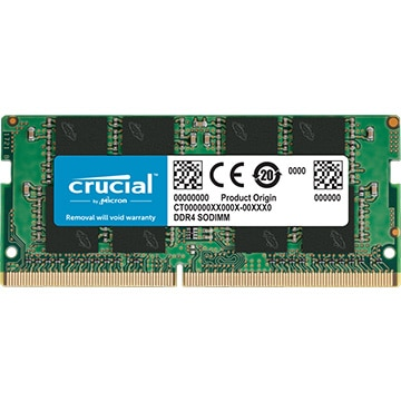 16G DDR4 3200 MTs PC4-25600 CL22 DR x8 Unbuff SODIMM 260p