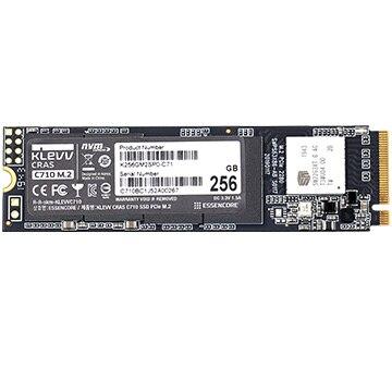 Essencore KLEVV 内蔵SSD CRAS C710 256GB M.2 2280 NVMe PCle Gen3 x4 K256GM2SP0-C71