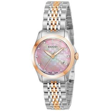 <ひかりTV>【送料無料 + ポイント10倍】■腕時計 Gタイムレス ピンクパール YA126538画像