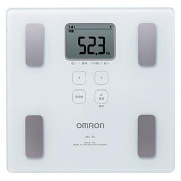 オムロン 体重体組成計 カラダスキャン ホワイト HBF-214-W