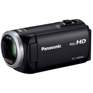 パナソニック デジタルハイビジョンビデオカメラ [ブラック] HC-V480MS-K