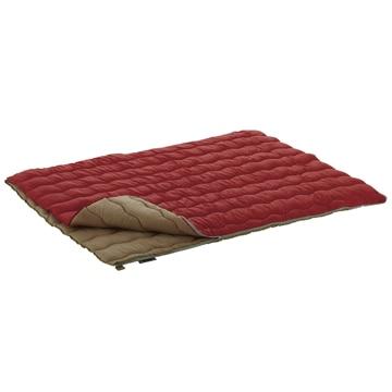 ロゴスコーポーレーション ■2in1・Wサイズ丸洗い寝袋・0