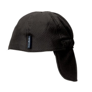 ロゴスコーポーレーション ■冷え帽 ブラック フリー