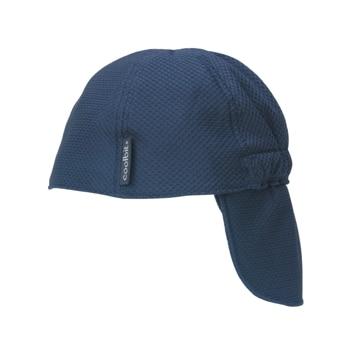 ロゴスコーポーレーション ■冷え帽 ネイビ フリー
