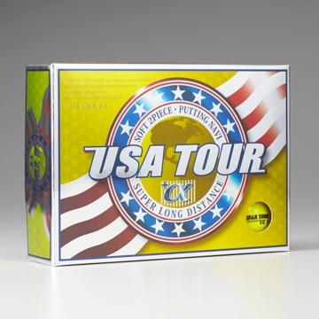 朝日ゴルフ用品 ■USA TOUR DISTANCE +α 12P YELLOW