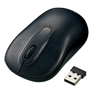 ELECOM 無線マウス/光学式/Mサイズ/3ボタン ブラック M-DY11DRBK