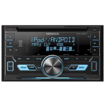 ケンウッド CD/USB/iPodレシーバーMP3/WMA/WAV/FLAC対応 DPX-U530