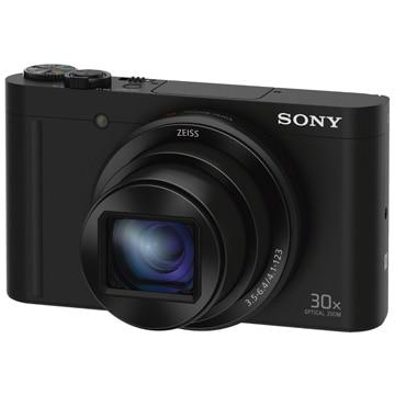 SONY デジタルスチルカメラ Cyber-shot WX500 (1820万画素CMOS/光学x30) ブラック DSC-WX500/B