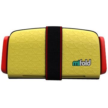 DADWAY mifold(マイフォールド) ブースターシート/ジュニアシート(タクシーイエロー) BCMI00106