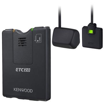 JVCケンウッド 彩速ナビ 連動型 高度化光ビーコン対応 ETC2.0車載器 ETC-N7000