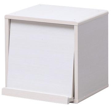 アイリス QRボックス フラップタイプ 白松目 QR-34FT