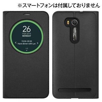 ASUS ZenFone GO(ZB551KL) 専用 View Folio Cover ブラック