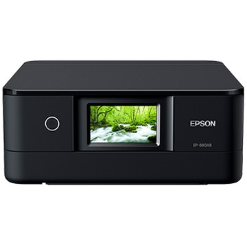 EPSON A4インクジェット複合機/多機能/Wi-Fi/ブラック EP-880AB