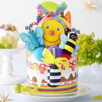 DADWAY Diaper Cake ダイパーケーキ スマイリーガーデン GFDC02202