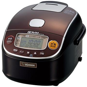 ZOJIRUSHI 圧力IH炊飯器 極め炊き 3合炊き ダークブラウン NP-RY05-TD