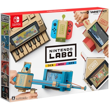 5%OFF!<ひかりTV>【送料無料 + ポイント10倍】[Switch] Nintendo Labo Toy-Con 01: Variety Kit画像