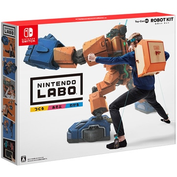 任天堂 [Switch] Nintendo Labo Toy-Con 02: Robot Kit