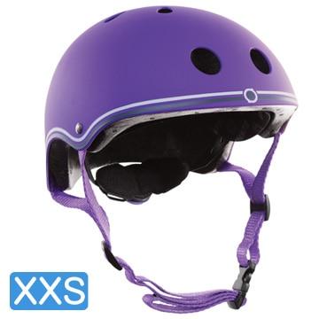 <ひかりTV>【ポイント10倍】【日本正規代理店品】GLOBBER(グロッバー) キッズ用ヘルメット XXS( 48-51cm) バイオレット WKGB504103画像