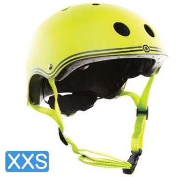 <ひかりTV>【ポイント10倍】【日本正規代理店品】GLOBBER(グロッバー) キッズ用ヘルメット XXS( 48-51cm) ライムグリーン WKGB504106画像