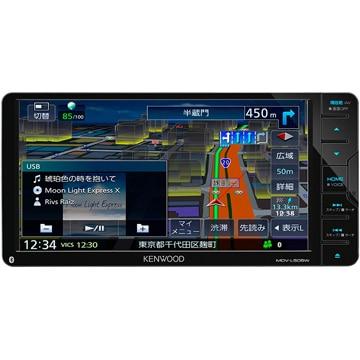ケンウッド 彩速ナビ 7V型ワイドメモリーカーナビ/地デジ/ DVD/USB/SD/Bluetooth内蔵 MDV-L505W