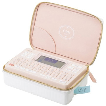 キングジム ラベルライター「テプラ」PRO ピンク SR-GL2