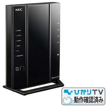 NEC 【ひかりTV4K動作確認済】11ac対応 無線LANルーター Aterm WG2600HP3 PA-WG2600HP3