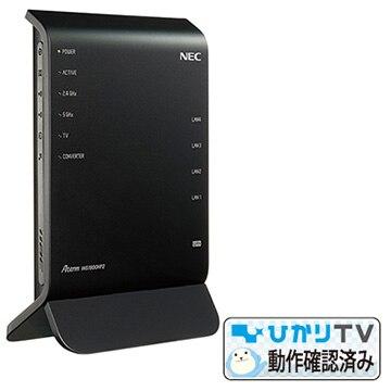 NEC 【ひかりTV4K動作確認済】11ac対応 無線LANルーター Aterm WG1900HP2 PA-WG1900HP2