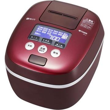 タイガー魔法瓶 圧力IH炊飯器 9層遠赤特厚釜 5.5合炊き ボルドー JPC-A102-RD