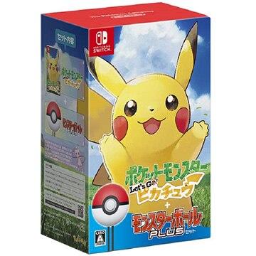 [Switch] ポケットモンスター Let's Go! ピカチュウ モンスターボール Plusセット