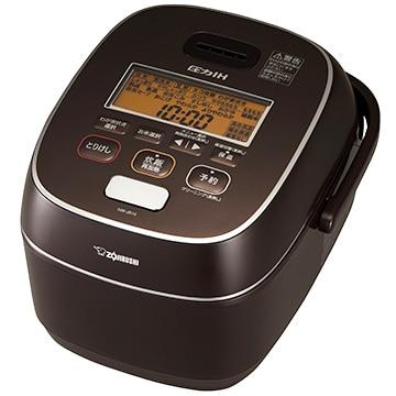 象印 圧力IH炊飯器 極め炊き 5.5合炊き ブラウン NW-JB10-TA