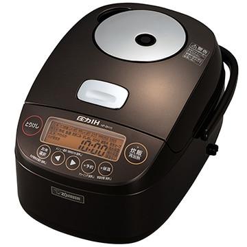 象印マホービン 圧力IH炊飯器 極め炊き 5.5合炊き ブラウン NP-BH10-TA