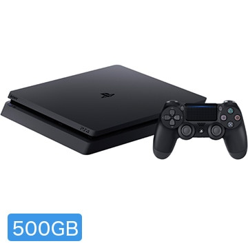 SIE PlayStation(R)4 ジェット・ブラック 500GB CUH-2200AB01