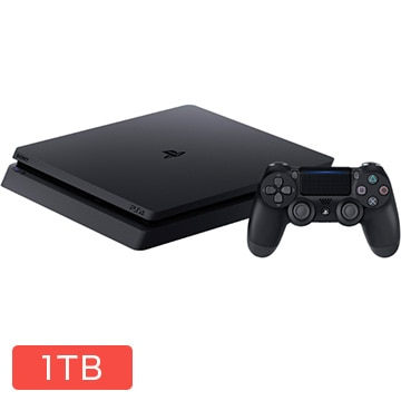 SIE PlayStation(R)4 ジェット・ブラック 1TB CUH-2200BB01