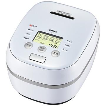 タイガー魔法瓶 土鍋圧力IH炊飯器 炊きたて 5.5合炊き アーバンホワイト JPH-A101-WE
