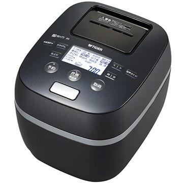 タイガー魔法瓶 土鍋圧力IH炊飯器 炊きたて 3.5合炊き シルキーブラック JPJ-A060-KS