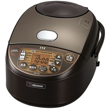 象印マホービン IH炊飯器 5.5合炊き ブラウン NP-VI10-TA