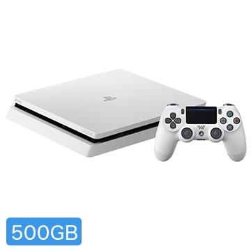 ソニー・インタラクティブエンタテインメント PlayStation(R)4 グレイシャー・ホワイト 500GB CUH-2200AB02