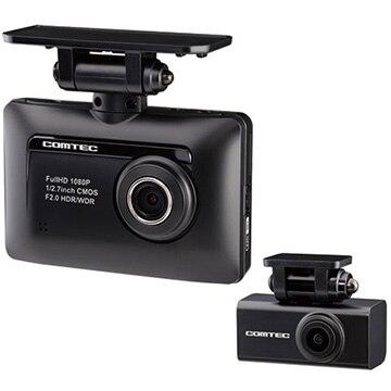 コムテック フルHD200万画素 前後2カメラ ドライブレコーダー ZDR-015
