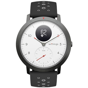 Withings スマートウォッチ Steel HR Sport White