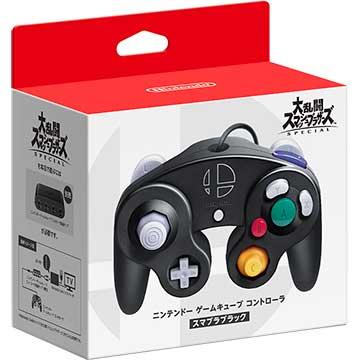 任天堂 [Switch] ニンテンドー ゲームキューブ コントローラ スマブラブラック