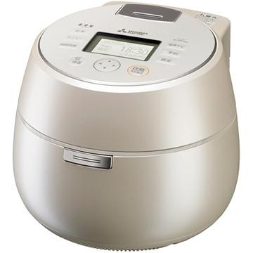 三菱電機 IH炊飯器 本炭釜 羽釜タイプ 5.5合炊き 白和三盆 NJ-AW109-W