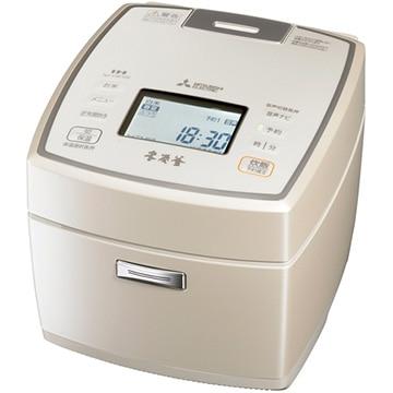 三菱 IH炊飯器 本炭釜 5.5合炊き 白和三盆 NJ-VW109-W