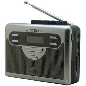 WINTECH ラジオ付テープレコーダー PCT-11R2