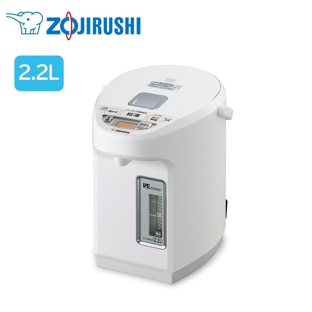 象印マホービン VE電気まほうびん 優湯生 2.2L ホワイト CV-WB22-WA