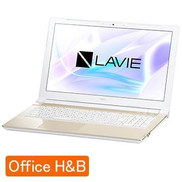 NEC 【オフィス付】LAVIE Smart NS(B) シャンパンゴールド PC-SN18CRSAB-4