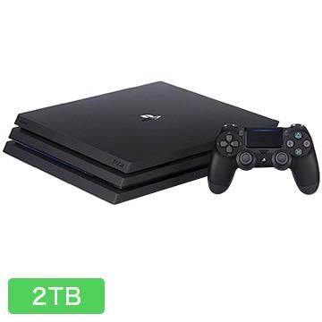ソニーインタラクティブエンタテインメント PlayStation(R)4 Pro ジェット・ブラック 2TB
