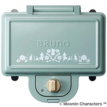 イデアインターナショナル ムーミンxブルーノ ムーミンホットサンド ダブル ブルーグリーン BOE051-BGR