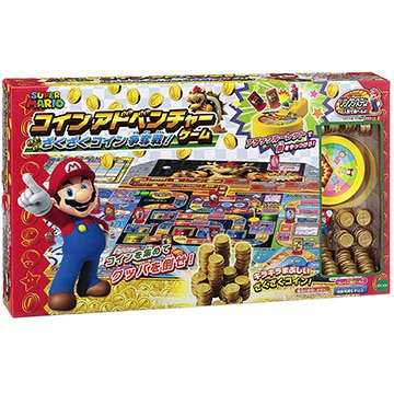 エポック社 スーパーマリオ コインアドベンチャーゲーム ざくざくコイン争奪戦!