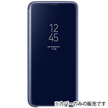 CLEAR VIEW STANDING COVER(S9用) Blue
