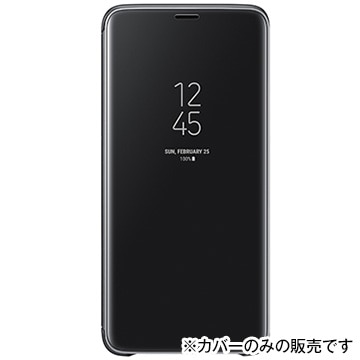 Clear View Standing Cover(S9+用) Black